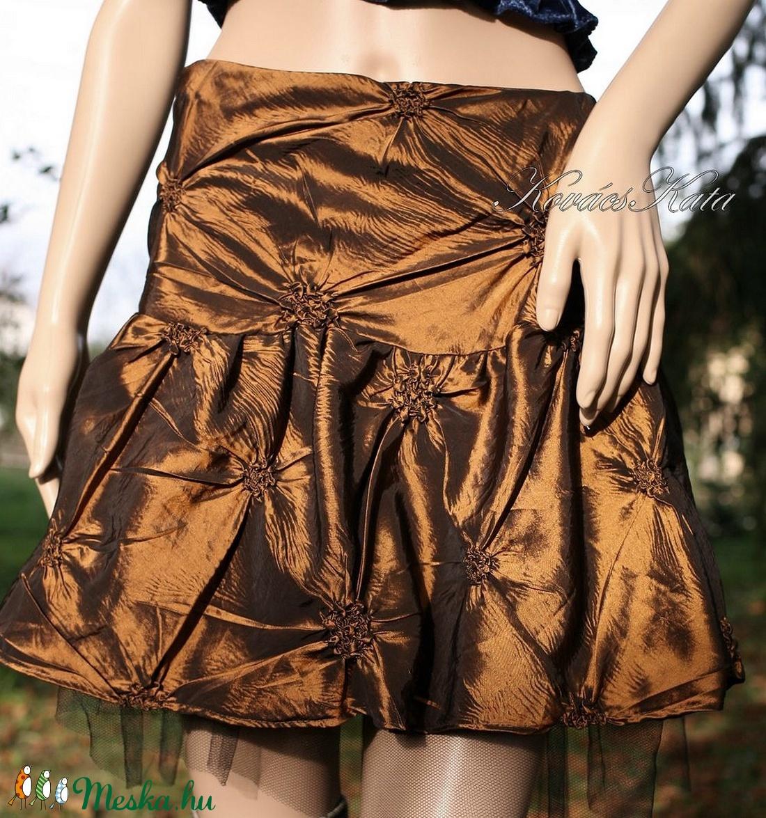 TAFT MINI - alkalmi design szoknya - ruha & divat - női ruha - alkalmi ruha & estélyi ruha - Meska.hu