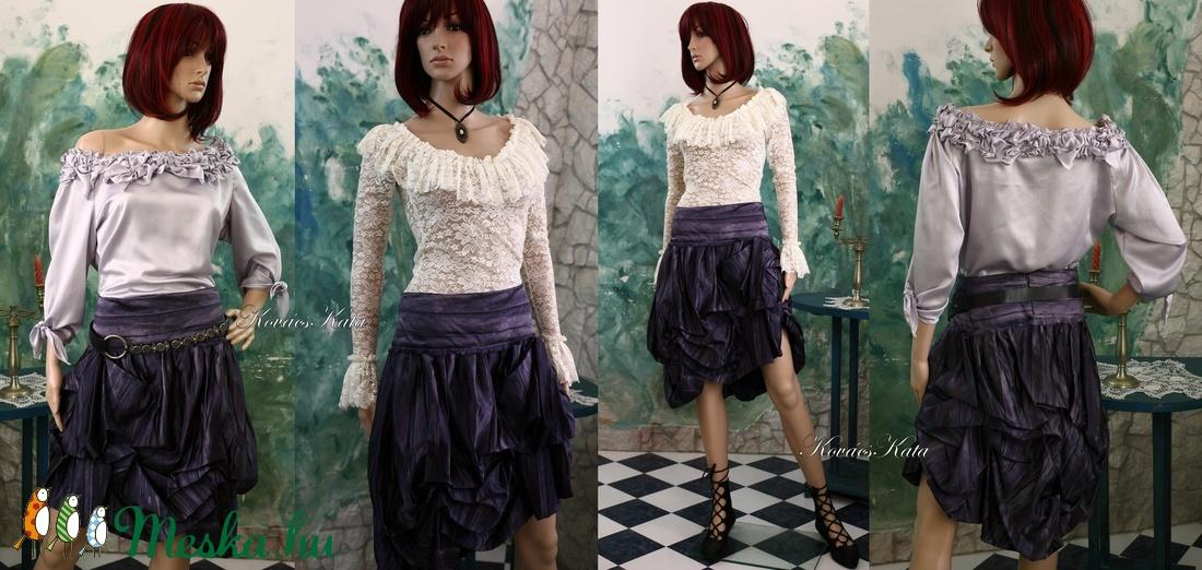 BUBORÉK-SZOKNYA - extravagáns design-szoknya - ruha & divat - női ruha - alkalmi ruha & estélyi ruha - Meska.hu