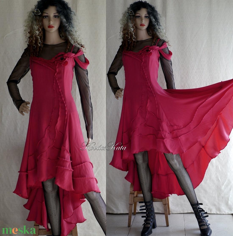 TAMARA-LUX - hernyóselyem design-ruha, estélyiruha, menyecske ruha (Aranybrokat) - Meska.hu