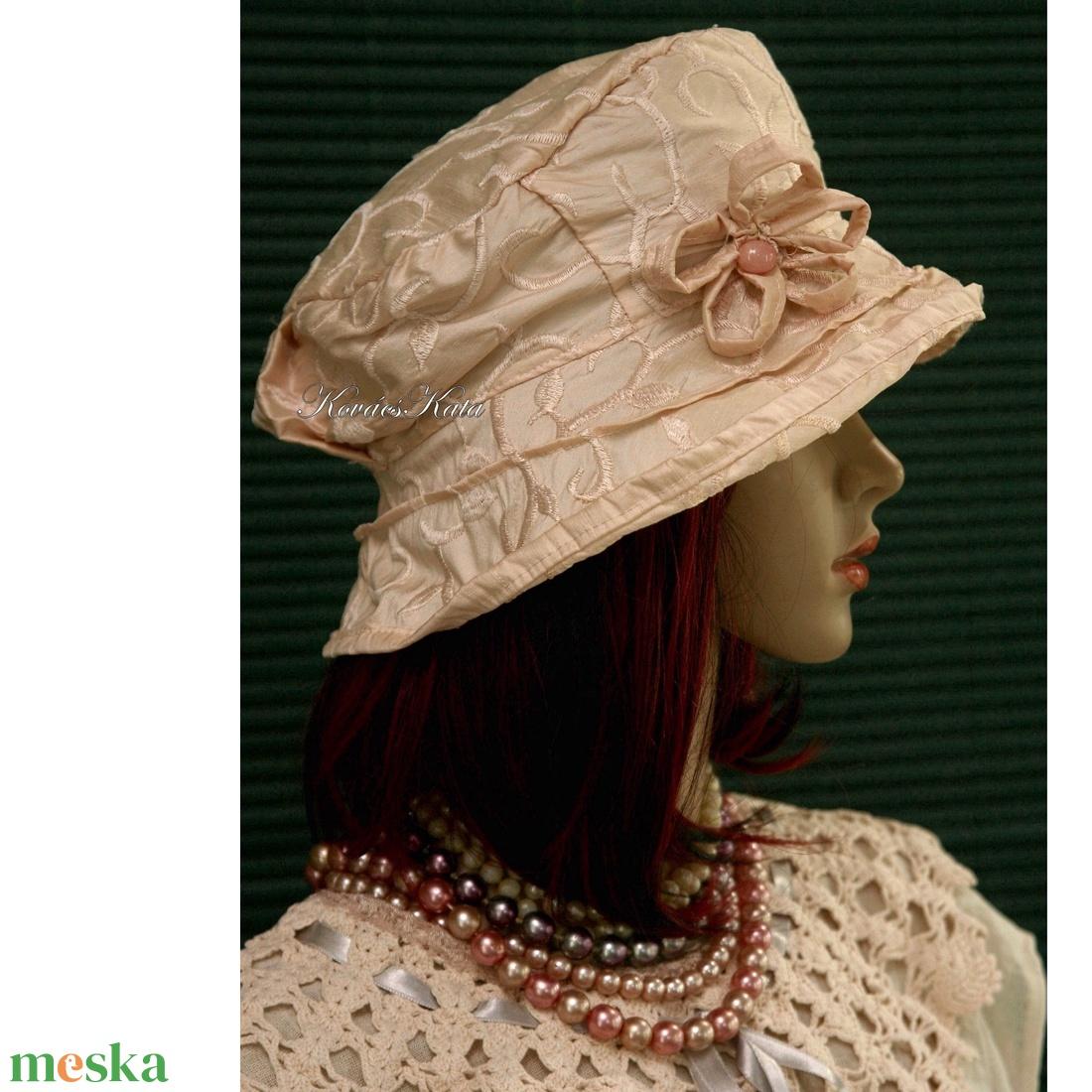 ESTELLA - luxus-selyem kalap - ruha & divat - sál, sapka, kendő - kalap - Meska.hu