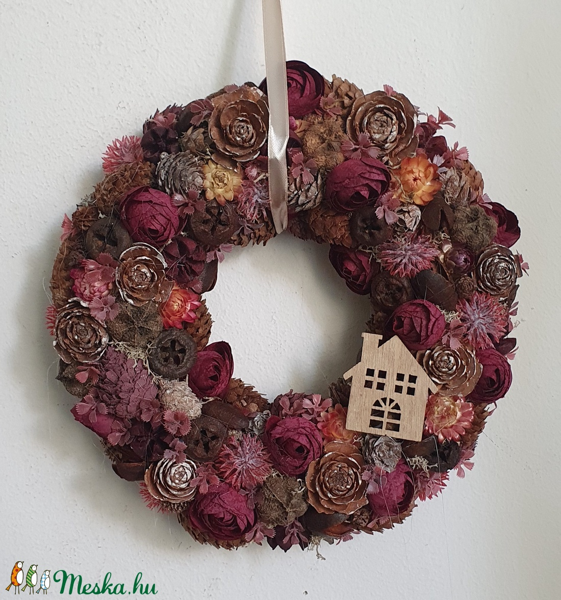 Őszi ajtódísz  - otthon & lakás - dekoráció - ajtódísz & kopogtató - Meska.hu
