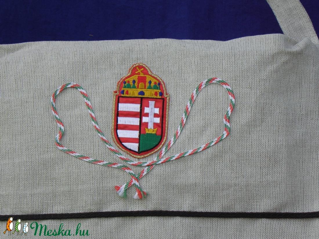 Címeres tarisznya - táska & tok - kézitáska & válltáska - tarisznya - Meska.hu