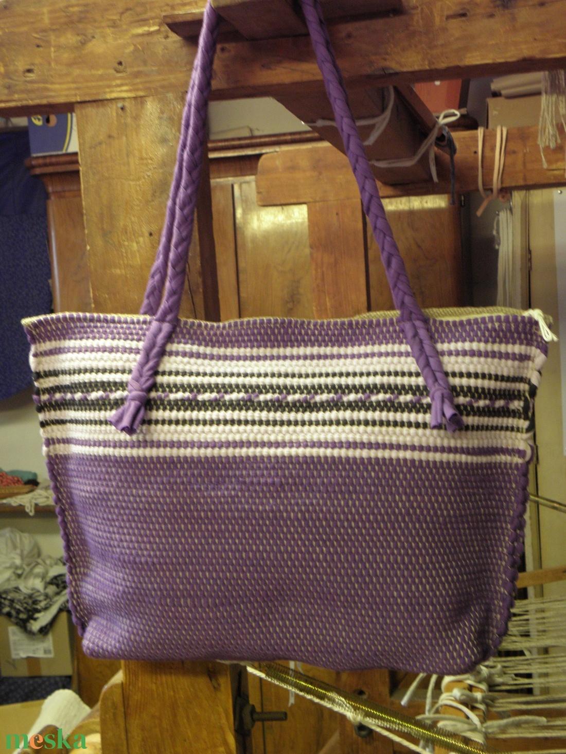 Biztonságos lila táska. - Meska.hu