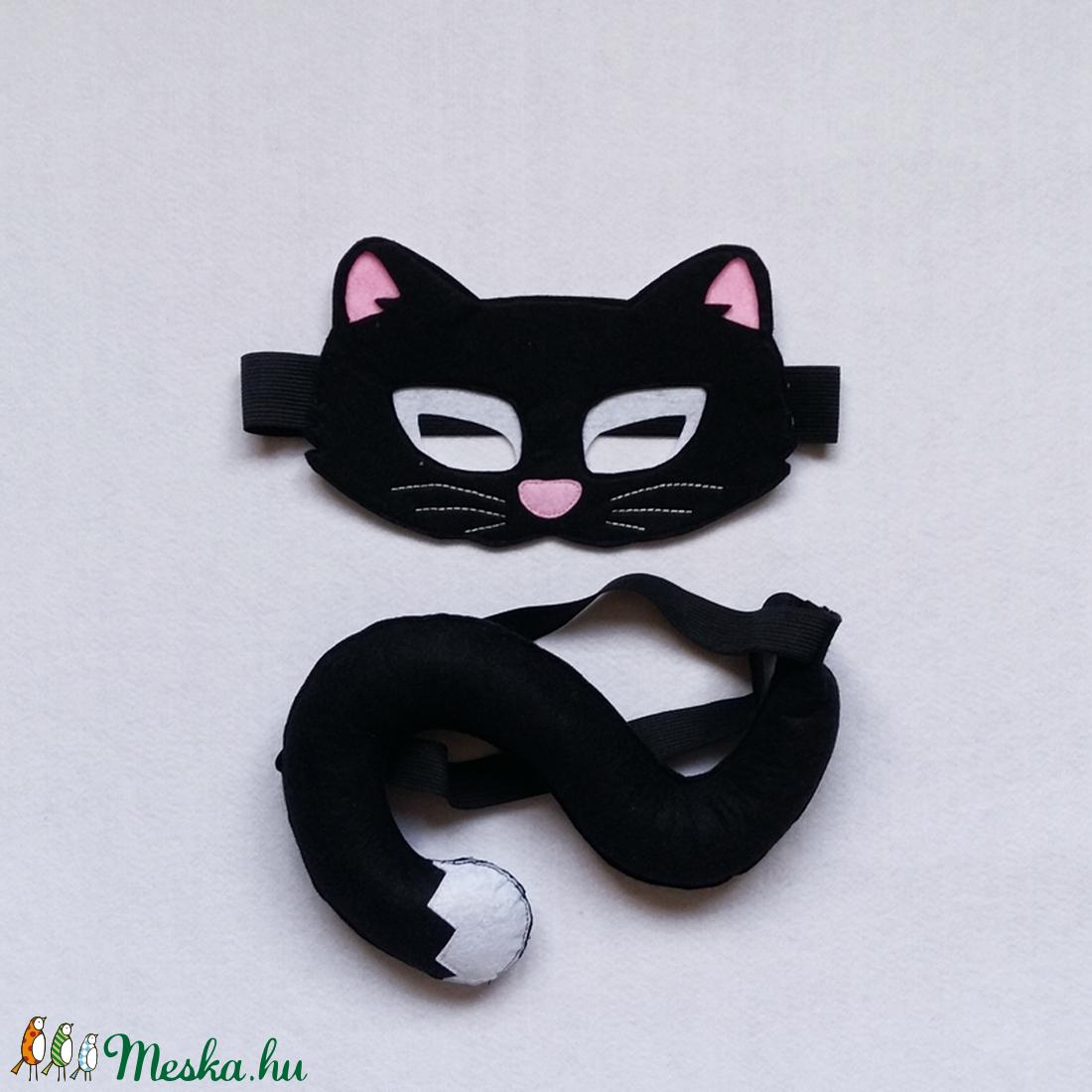 Macska/cica álarc  (banikomuhelye) - Meska.hu