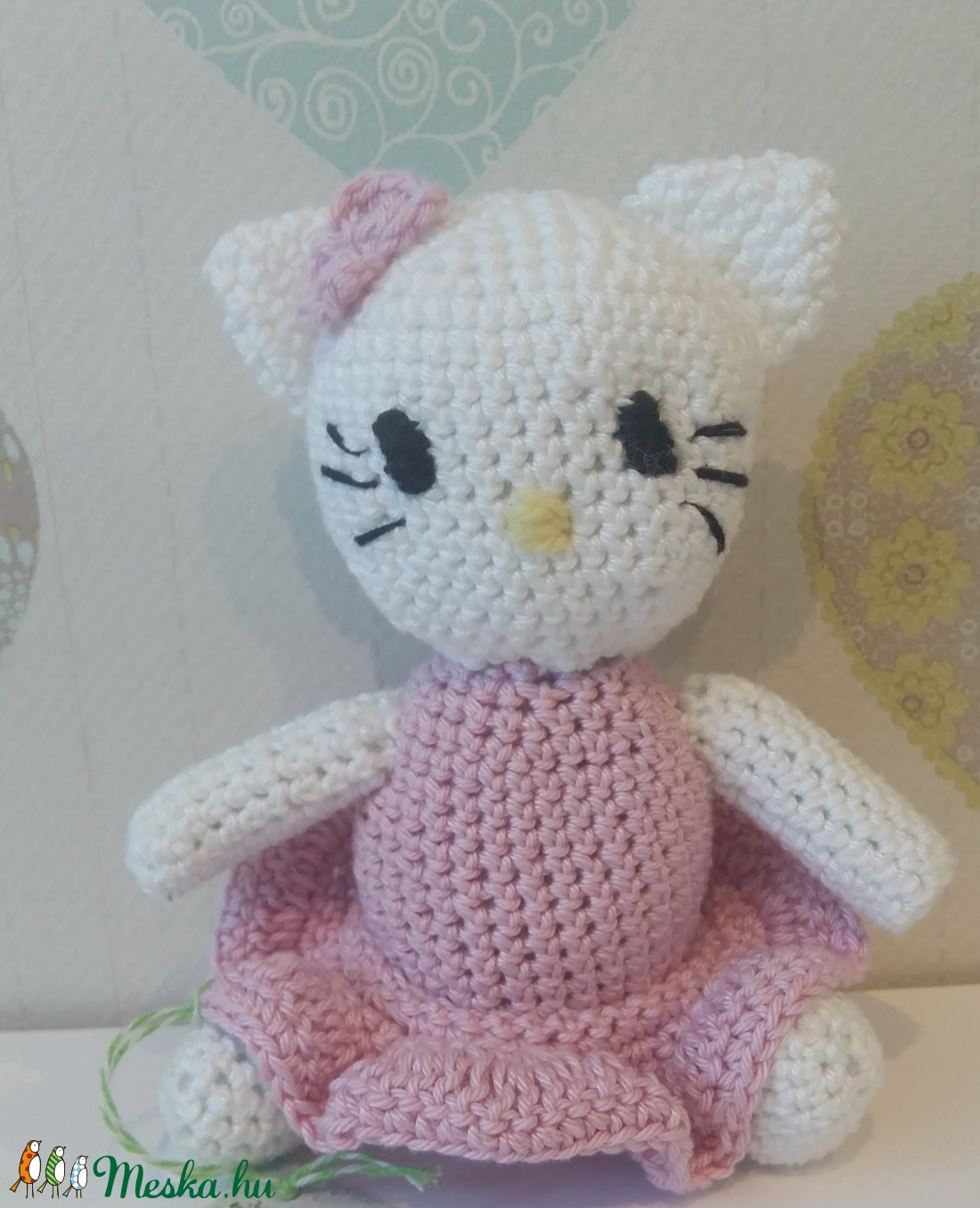 Kitty cica horgolt amigurumi (bbtimcsi) - Meska.hu