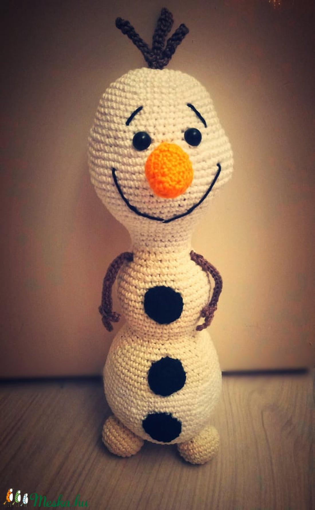 Olaf, a hóember (beebseg) - Meska.hu