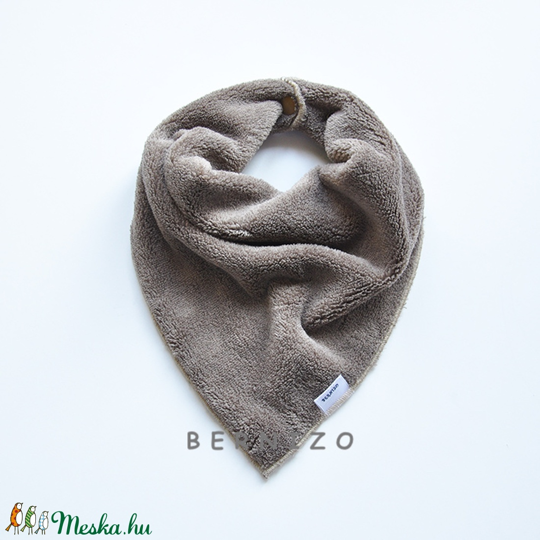 27d57f070e Barna sálkendő/babakendő (Bernizo) - Meska.hu