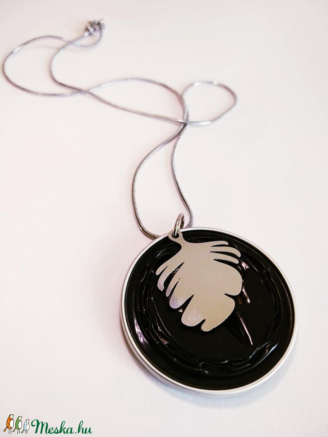 Ginko Steel Symbol kollekció - kapszula nyaklánc - ékszer - nyaklánc - medálos nyaklánc - Meska.hu