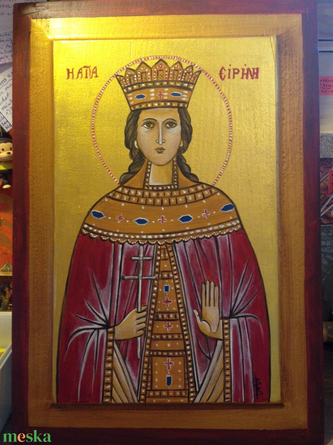 Szent Piroska ikon (BeuArt) - Meska.hu