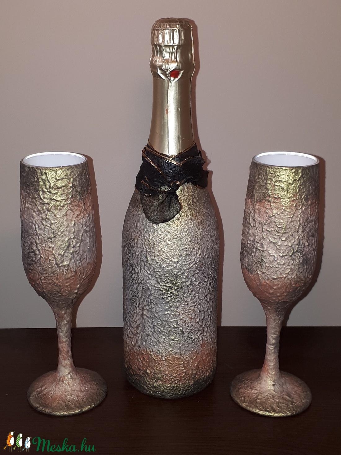 pezsgős képek szülinapra Egyedileg névre szólóan feliratozható vintage pezsgő és pezsgős  pezsgős képek szülinapra