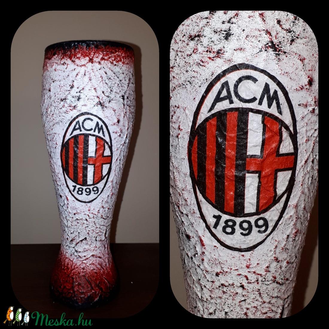 Ac Milan foci rajongói sörös pohár 500 ml  (Biborvarazs) - Meska.hu