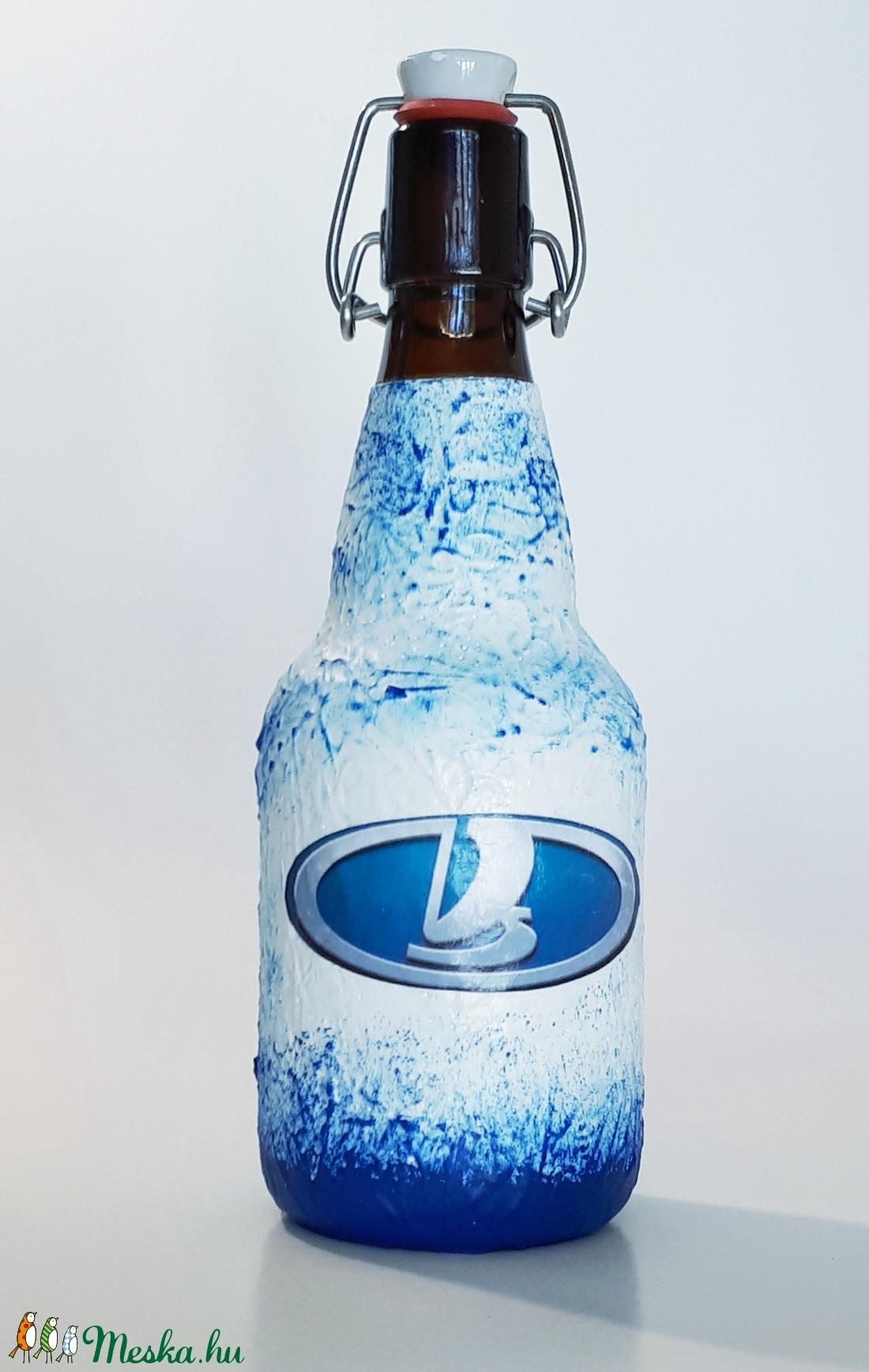 Lada  csatos dísz- és használati italos üveg, rajongói ajándékl (Biborvarazs) - Meska.hu