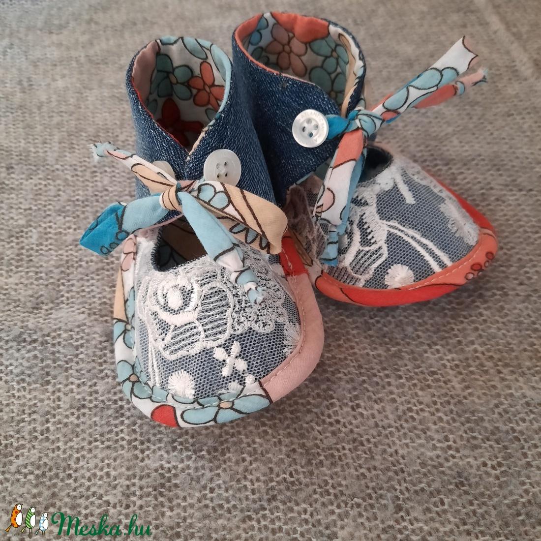 Baby cipő csipke (Birodalom) - Meska.hu