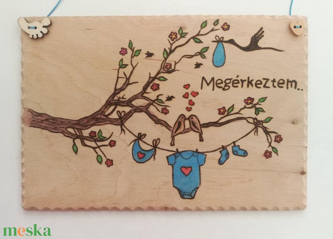 Baba emlékőrző tábla  - otthon & lakás - dekoráció - falra akasztható dekor - Meska.hu
