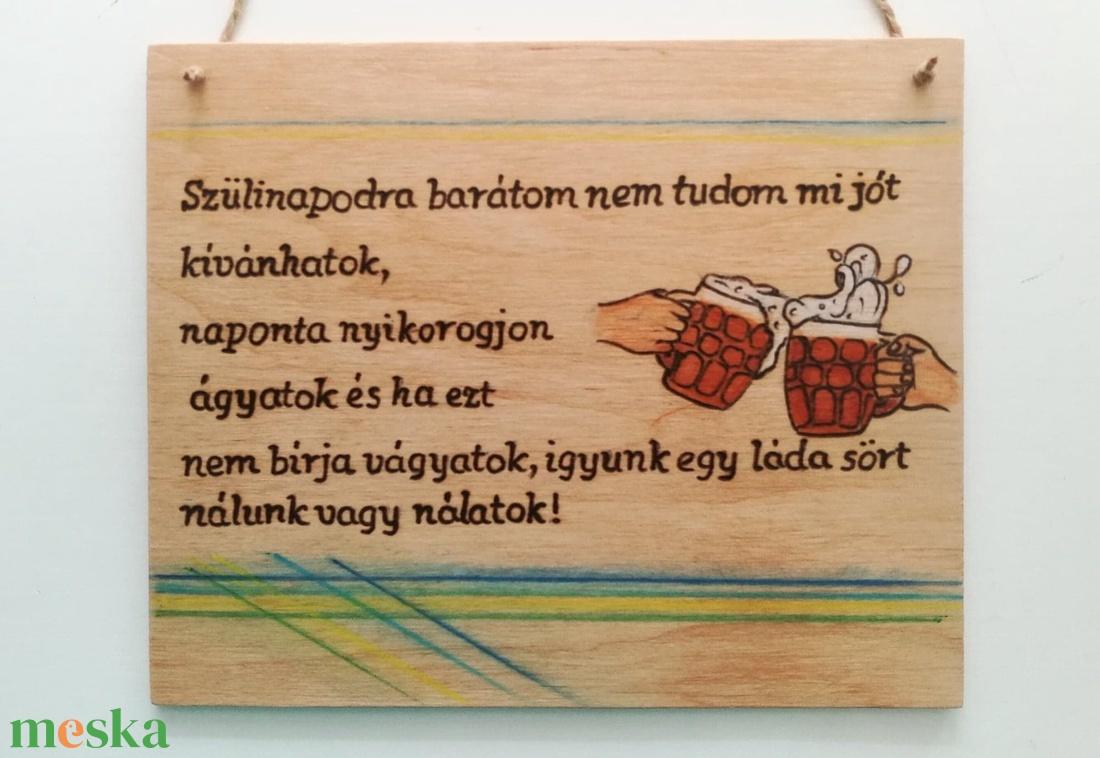 Szülinapi  tábla - otthon & lakás - Meska.hu