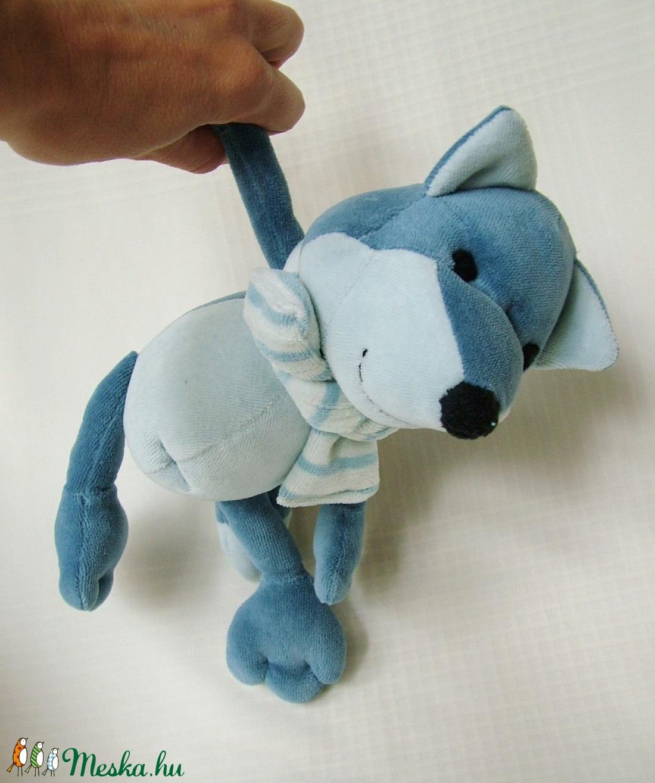 Poli a sarki kékróka - Poli the polar blue fox - játék & gyerek - plüssállat & játékfigura - róka - Meska.hu
