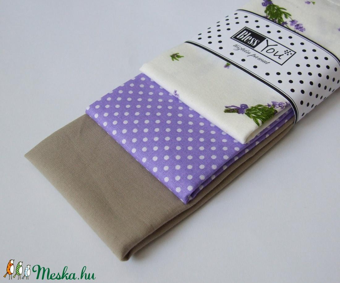 664dc38940 Levendulás textilzsebkendő szett - 3 darabos (Blessyou) - Meska.hu