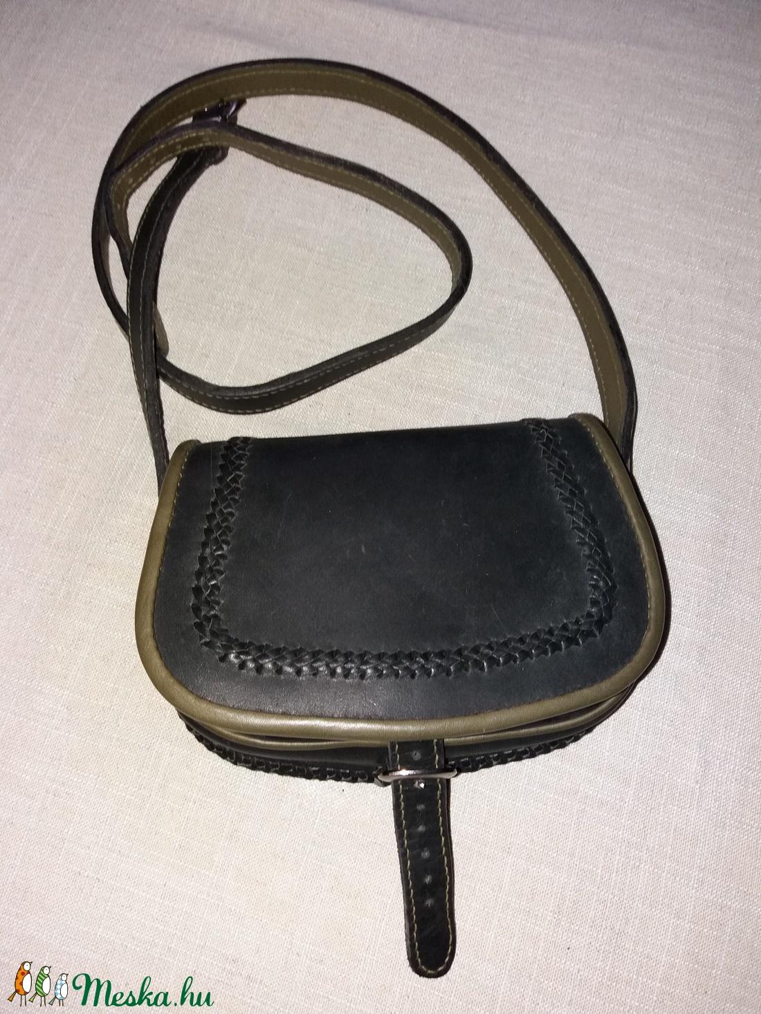 Szironyozott fedelű táska   - táska & tok - kézitáska & válltáska - vállon átvethető táska - Meska.hu