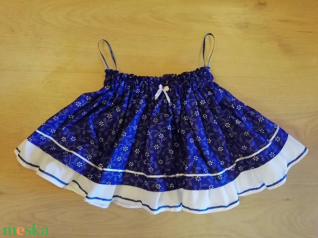 Kékfestő lánykaszoknya (Bothakata) - Meska.hu