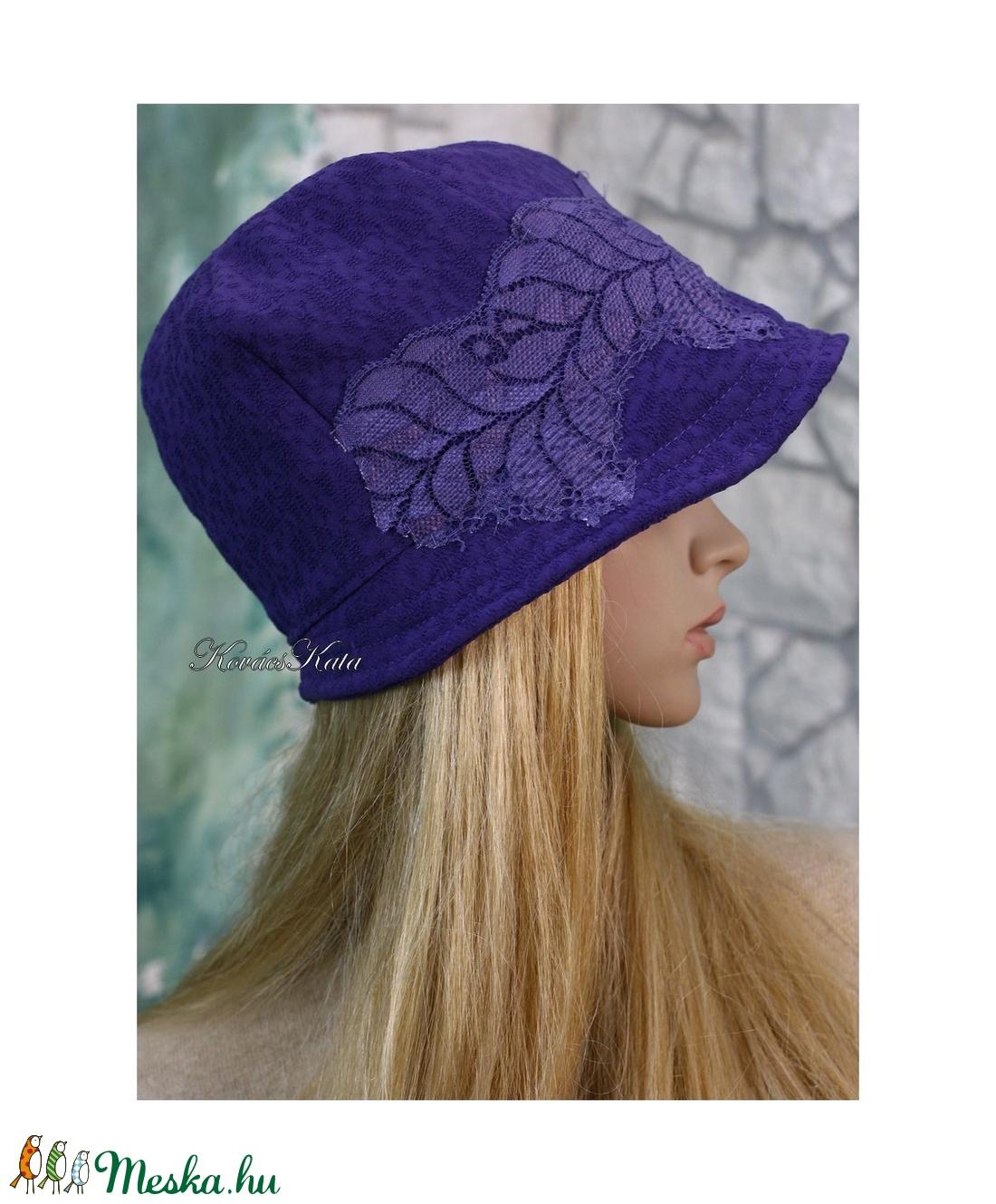 IBOLYA  cloche - artsy flapper kalap - ruha & divat - sál, sapka, kendő - kalap - Meska.hu
