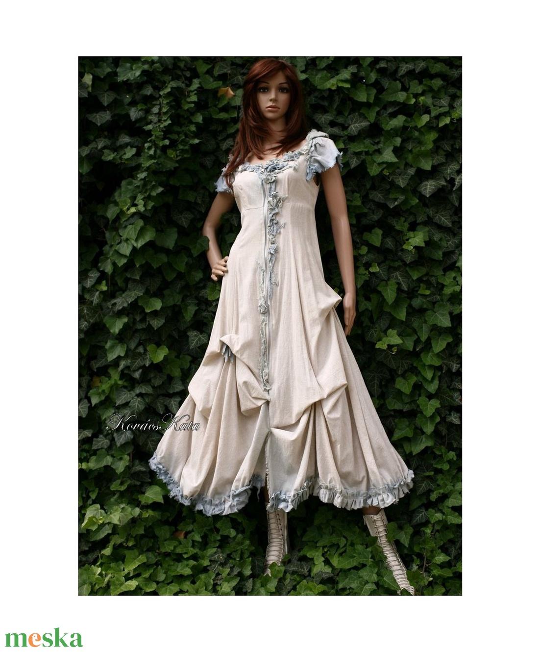BELLA - shabby chic design ruha  - ruha & divat - női ruha - ruha - Meska.hu