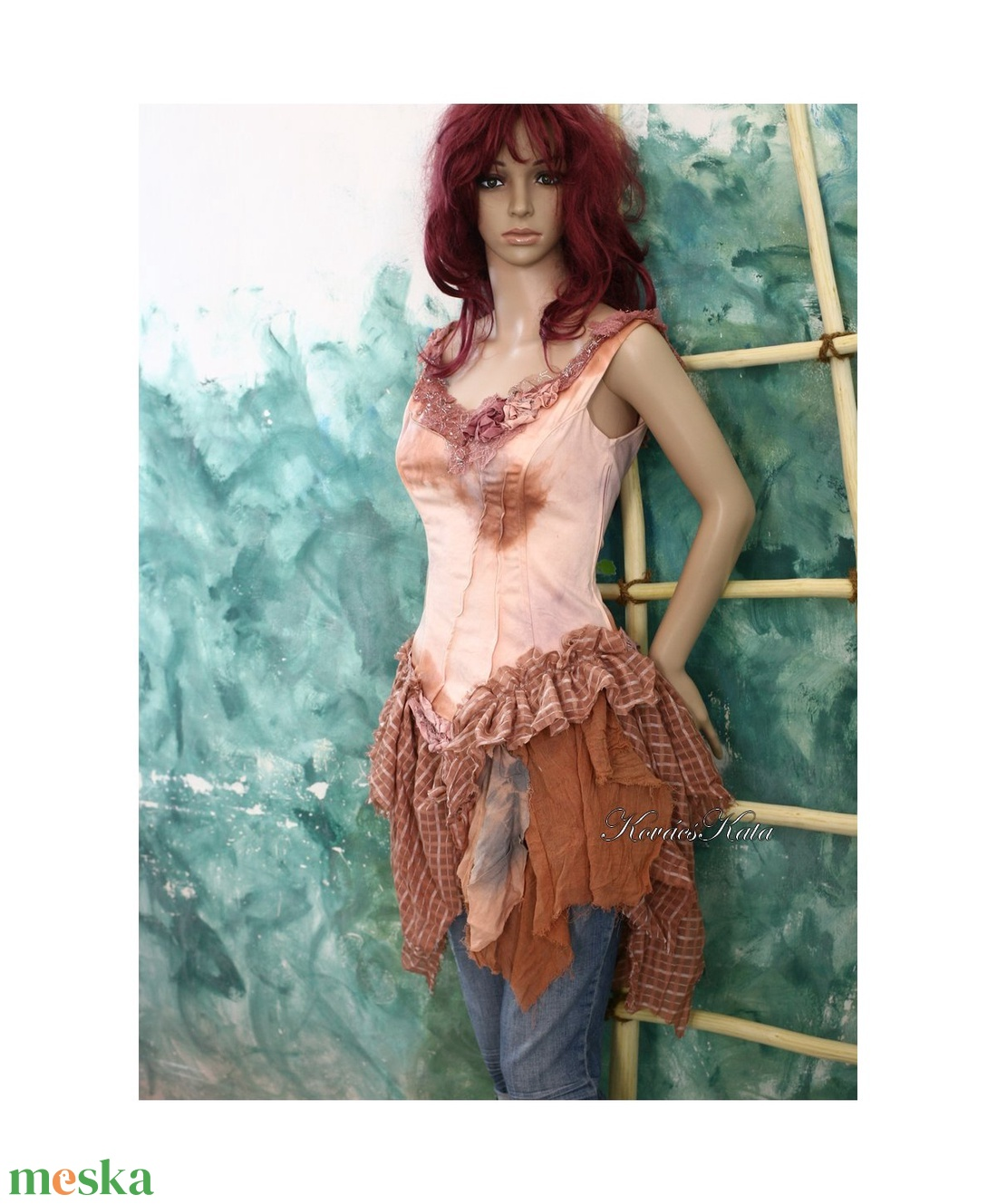 HAMUPIPŐKE - art to wear korzet-ruha - ruha & divat - női ruha - ruha - Meska.hu