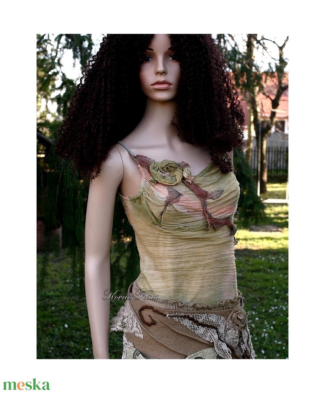 NIMFA-TOP -  grunge design felső - ruha & divat - női ruha - top - Meska.hu