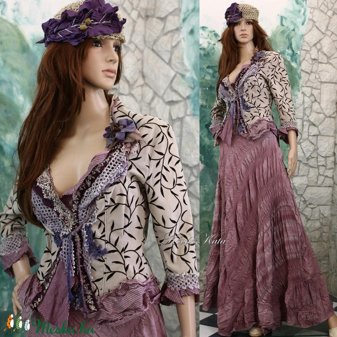 CSENGE-KOSZTÜM - shabby chic design-ruha - ruha & divat - női ruha - blézer & kosztüm - Meska.hu