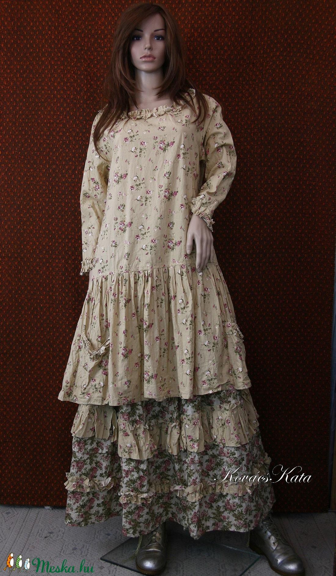 ROMY - romantikus szoknya, ruha  - ruha & divat - női ruha - szoknya - Meska.hu
