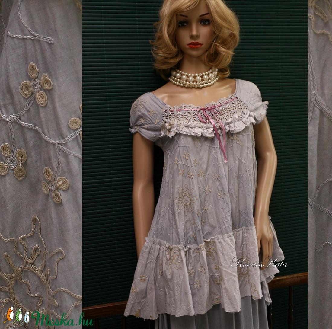 LONCI - shabby chic design-blúz - ruha & divat - női ruha - blúz - Meska.hu
