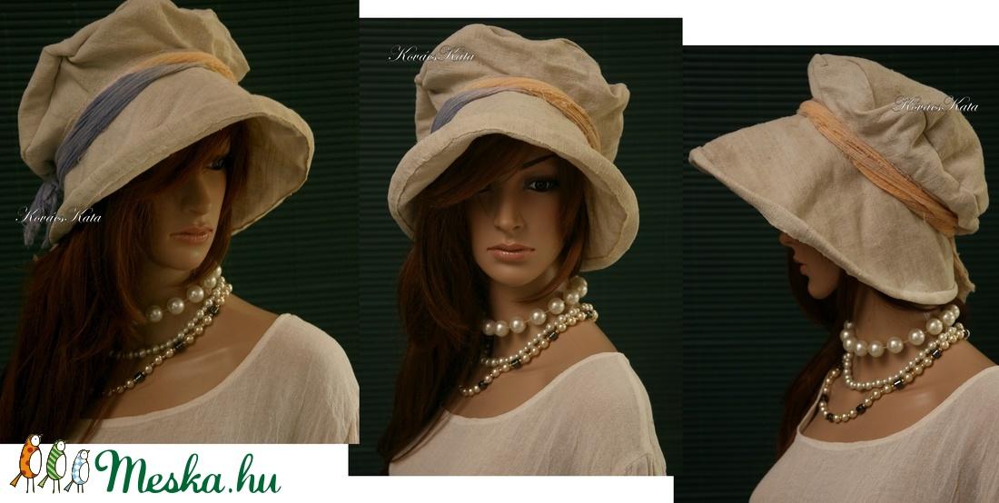 ANTIK VÁSZON ANDERSEN  design kalap  - ruha & divat - sál, sapka, kendő - kalap - Meska.hu