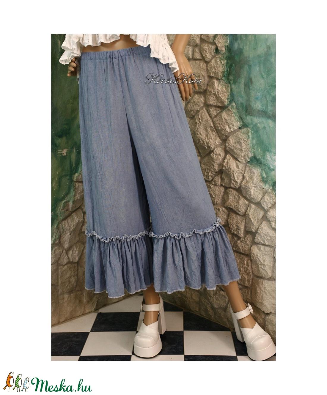 TARANTELLA - romantikus design nadrág  - ruha & divat - női ruha - nadrág - Meska.hu