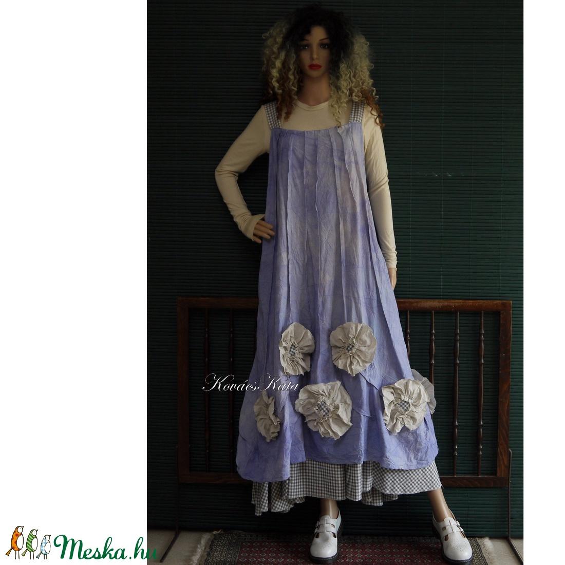 PITYPANGOS - design kötényruha - Artsy slip - ruha & divat - női ruha - ruha - Meska.hu