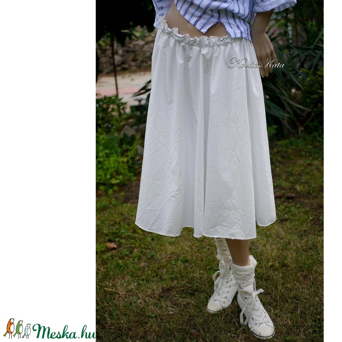 GLOKNIS selyemszoknya, alsószoknya - ruha & divat - női ruha - szoknya - Meska.hu