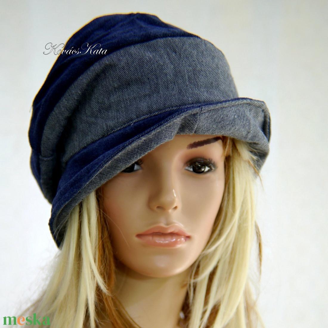 BERTA - farmer design kalap  - ruha & divat - sál, sapka, kendő - kalap - Meska.hu