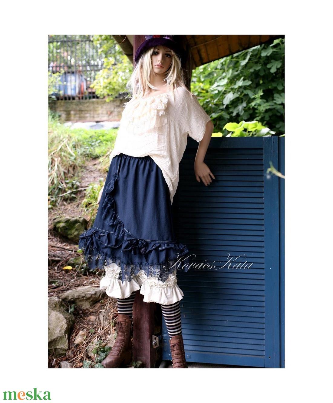 TRIXIE - romantikus design szoknya  - ruha & divat - női ruha - szoknya - Meska.hu