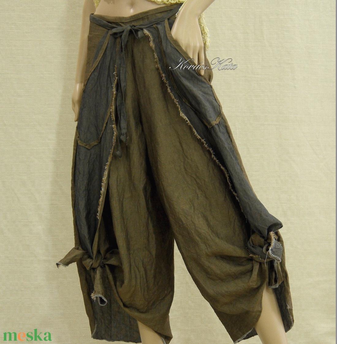 GALINA - extravagáns szárongnadrág  - ruha & divat - női ruha - nadrág - Meska.hu