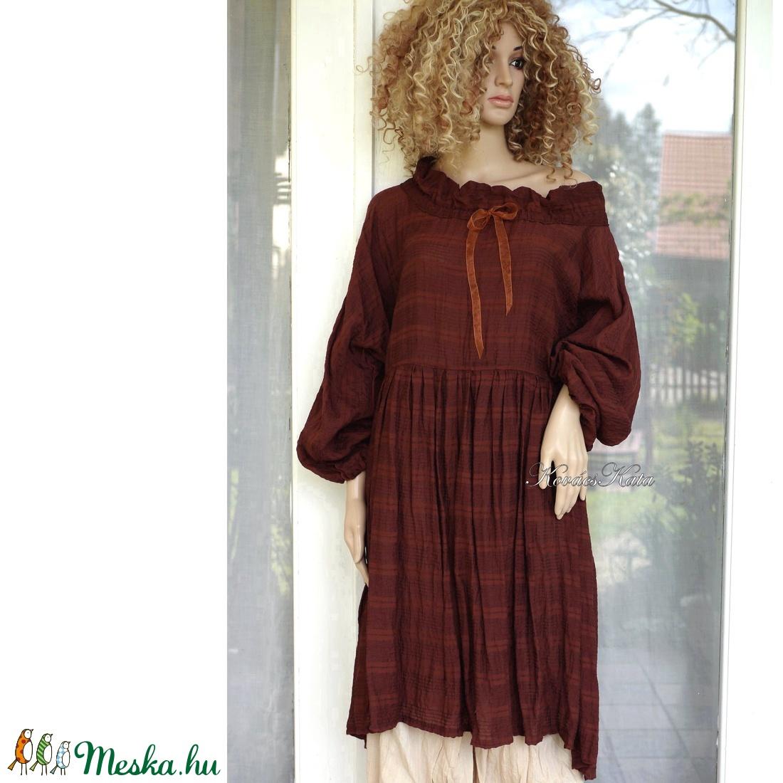 THALIA  - romantikus lagenlook  ruha XXL - ruha & divat - női ruha - kismamaruha - Meska.hu