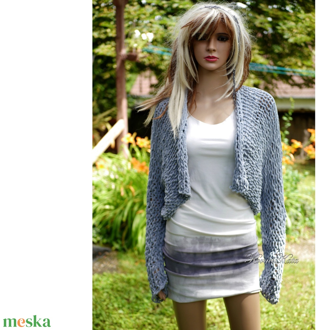 TRIKÓRUHA - bohém batikolt trikóruha  - ruha & divat - női ruha - ruha - Meska.hu