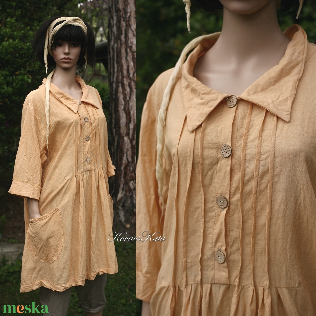 ANNIE -  nap-sárga ingruha  - ruha & divat - női ruha - ruha - Meska.hu