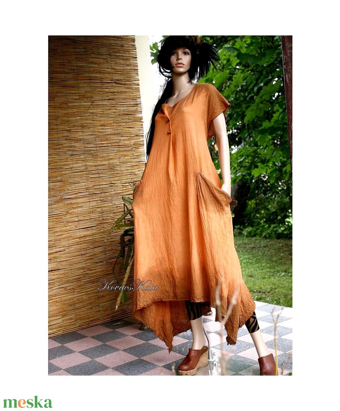 LEVÉLRUHA: MATILDA - artsy lagenlook design ruha / csau - ruha & divat - női ruha - ruha - Meska.hu