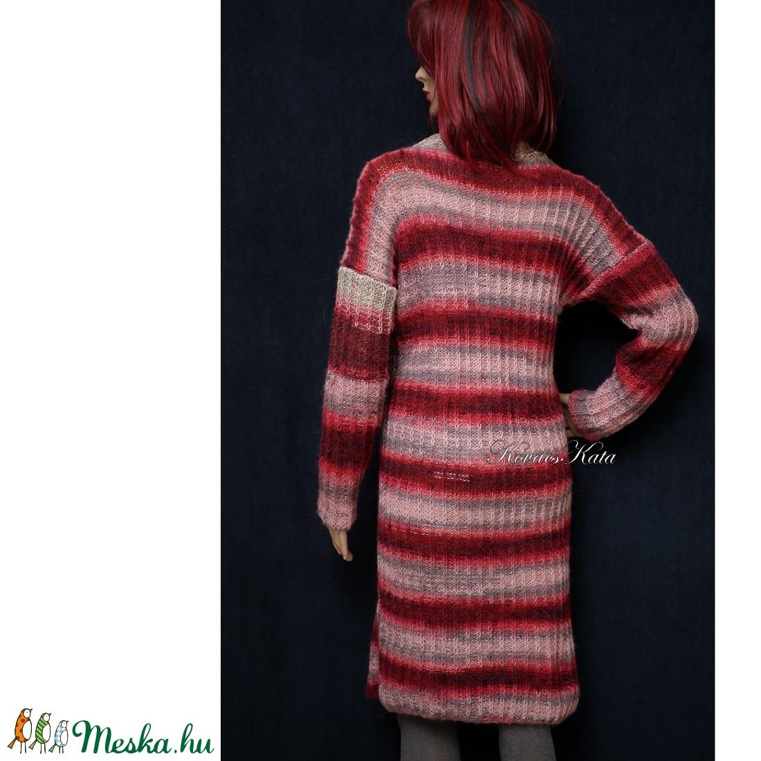 COLOR-ART - kézzel kötött pulóver ruha - ruha & divat - női ruha - pulóver & kardigán - Meska.hu