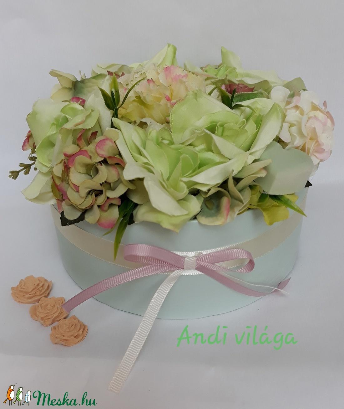Menta virágbox (bydecorart) - Meska.hu