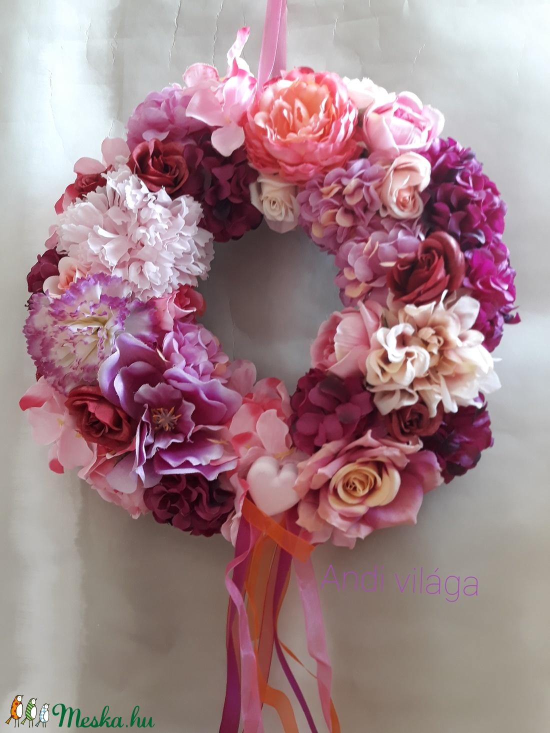 Pink kopogtató (bydecorart) - Meska.hu