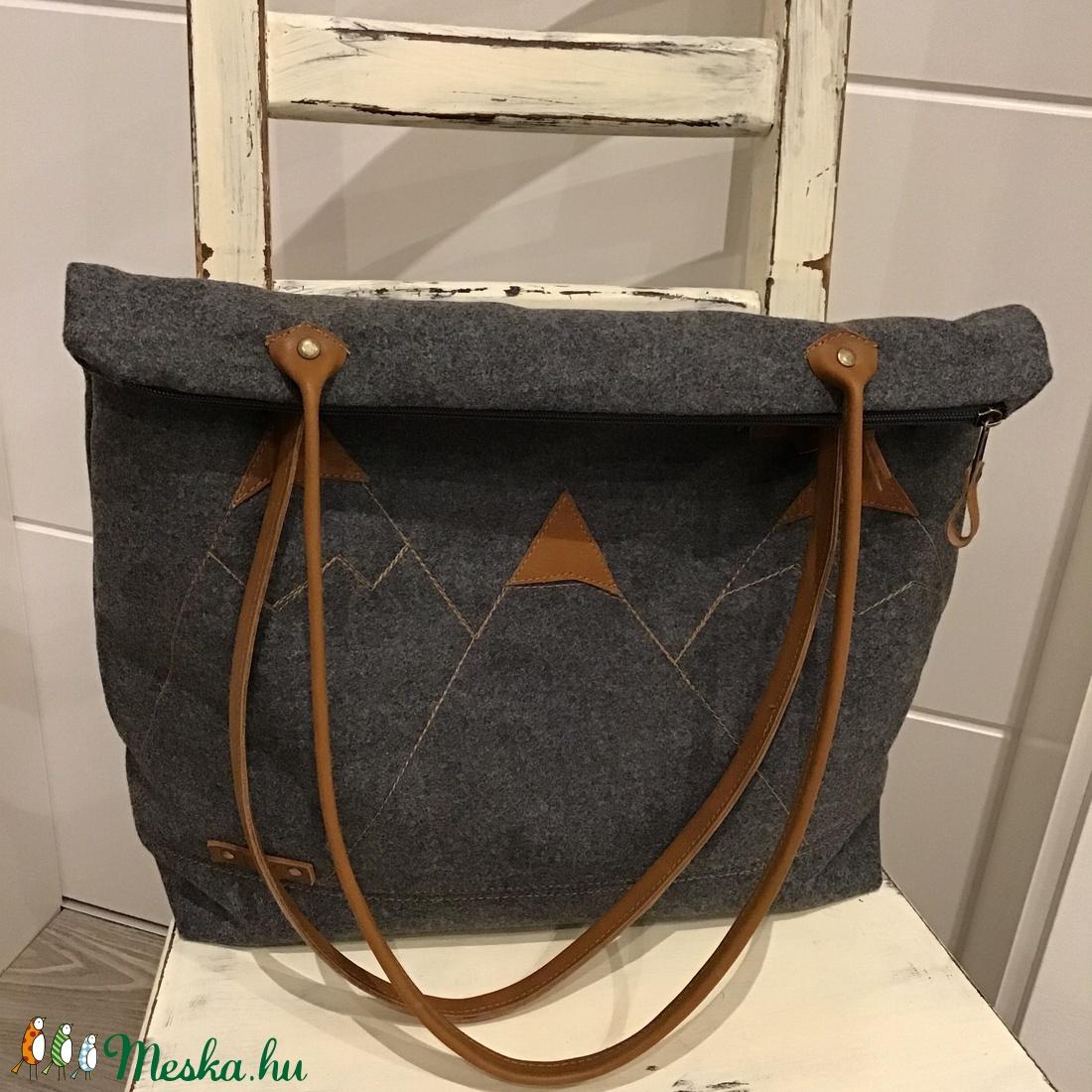Bőrpántos táska Női táska Nagyméretű táska. pelenkázó táska (BYildi) -  Meska ... 10c85661f7