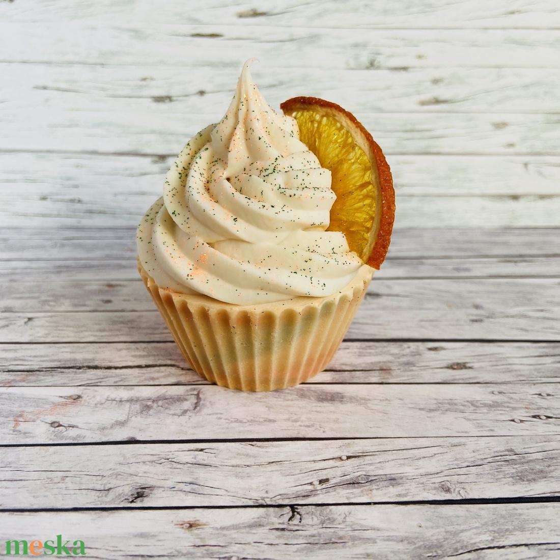 Kézműves organikus süti szappan - Citrus Love - szépségápolás - szappan & fürdés - kézműves szappan - Meska.hu