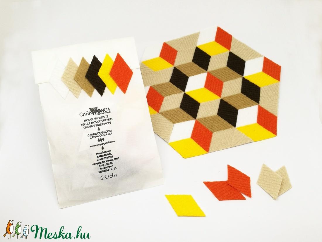 Mozaik matrica csomag 3. 60 db (carawonga) - Meska.hu