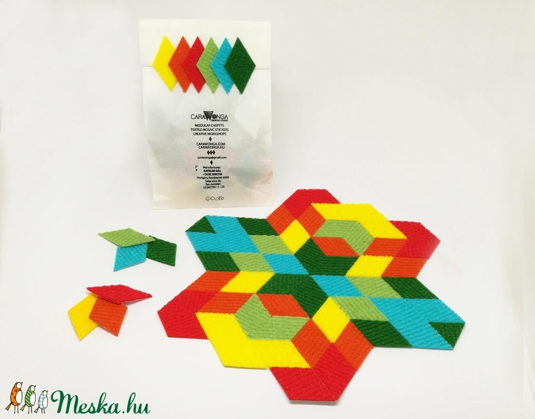 Mozaik matrica csomag 5. 60 db  (carawonga) - Meska.hu