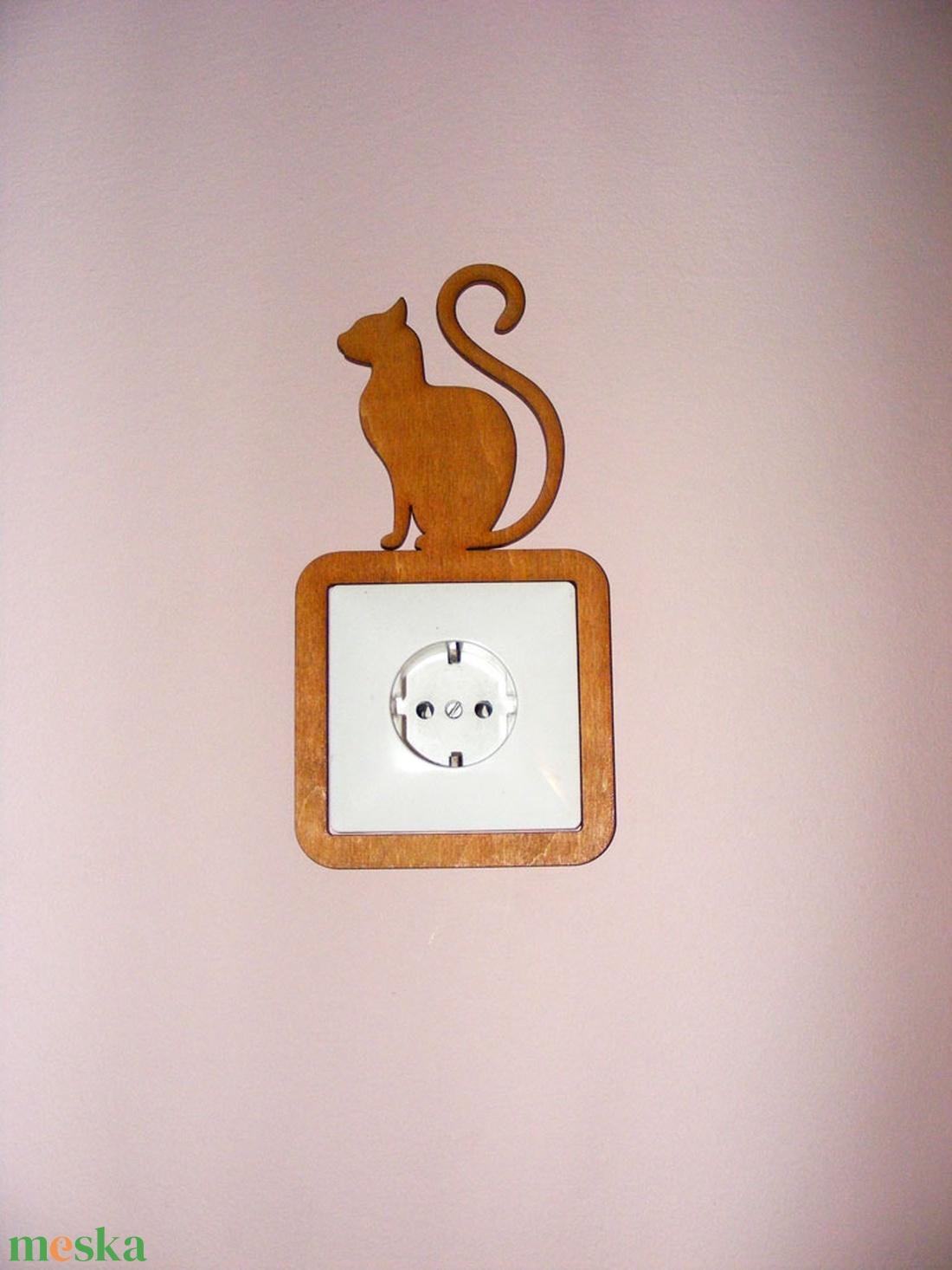 Kapcsolódísz, cicás, egeres, konnektordísz (Cerving) - Meska.hu