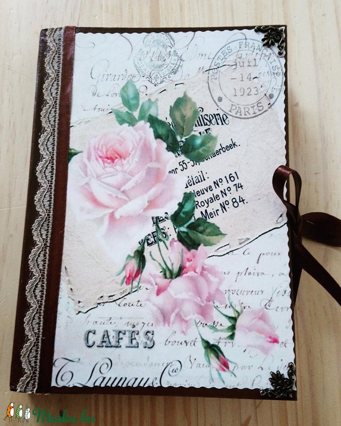 Rózsás napló (cloh) - Meska.hu